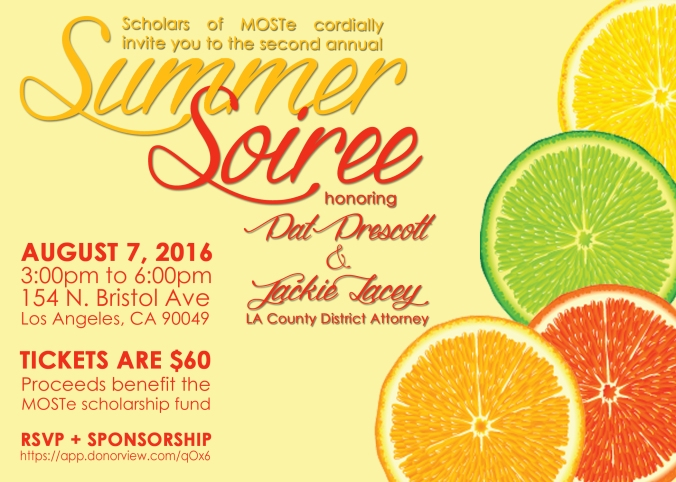 Summer Soiree Invite 2016
