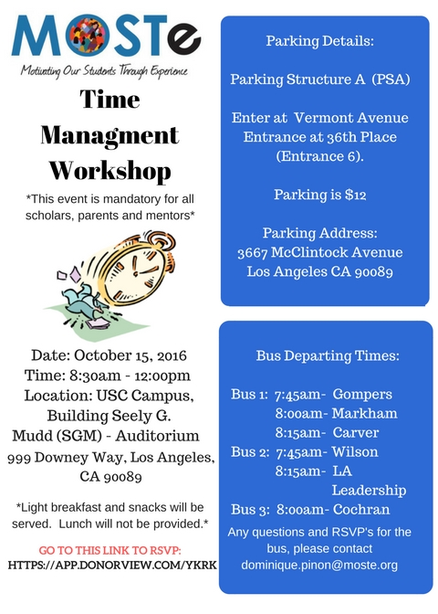 time-management-workshop-2016