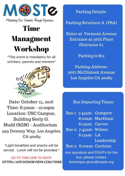 time-management-workshop-2016