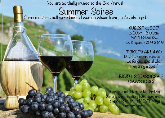 Summer Soiree Invite 2017